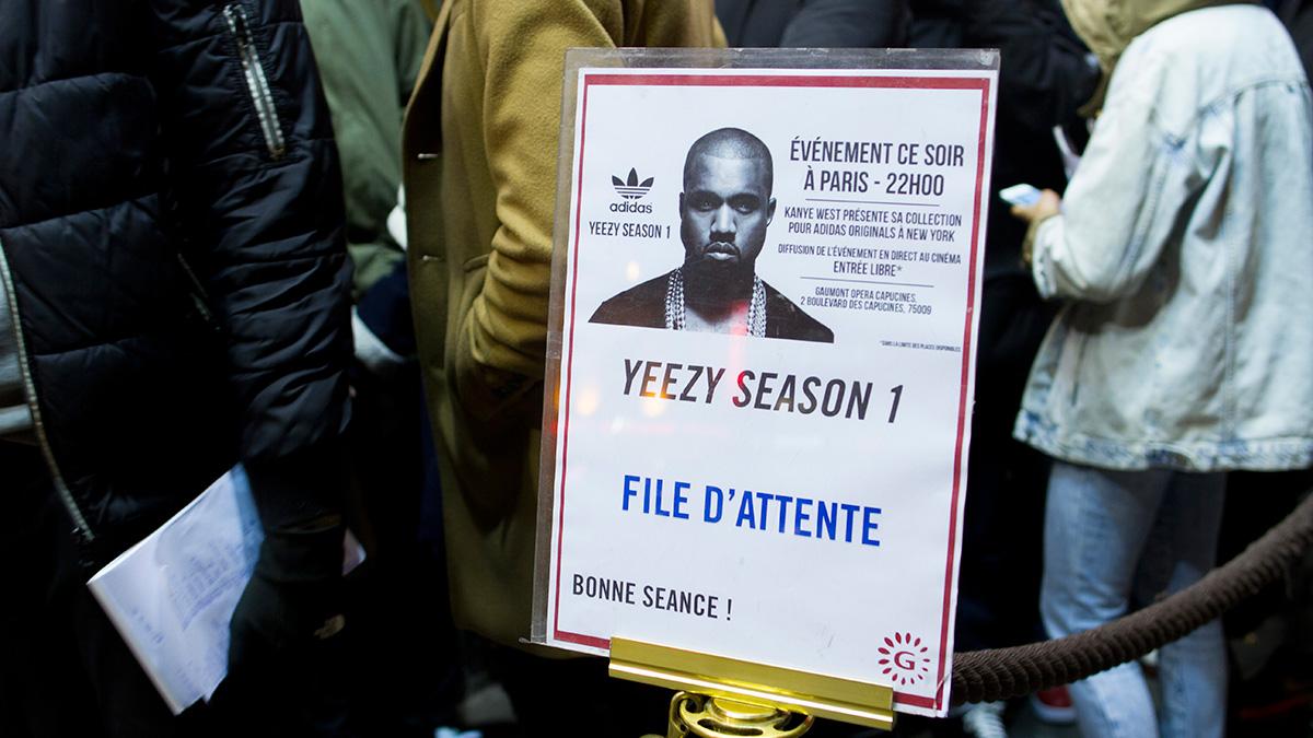 Kanye West x Adidas : à peine lancée, la collection