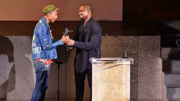 Kanye Pharrell CFDA