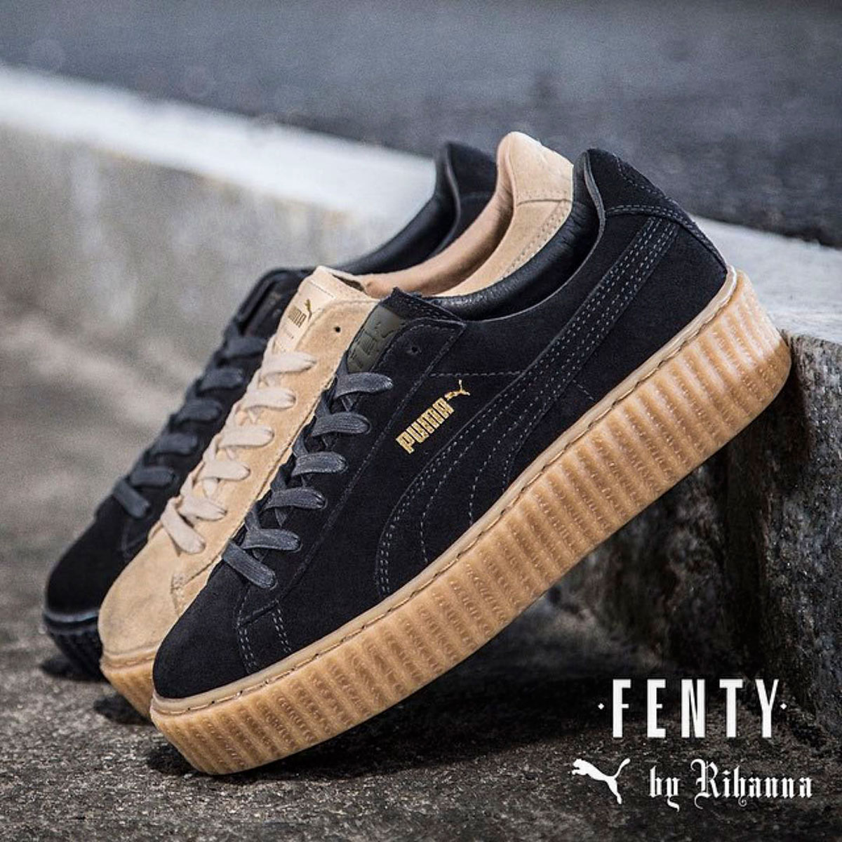rihanna fenty puma creepers sold out online YARD Be