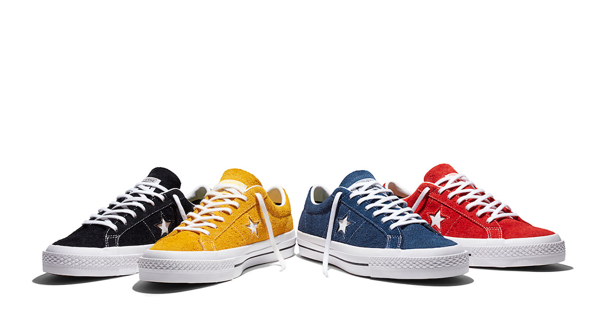 converse one star rouge femme
