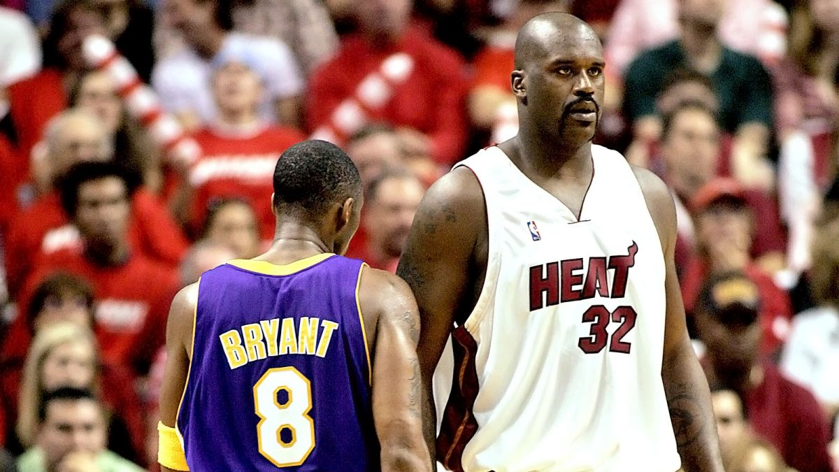 shaq heat kobe lakers