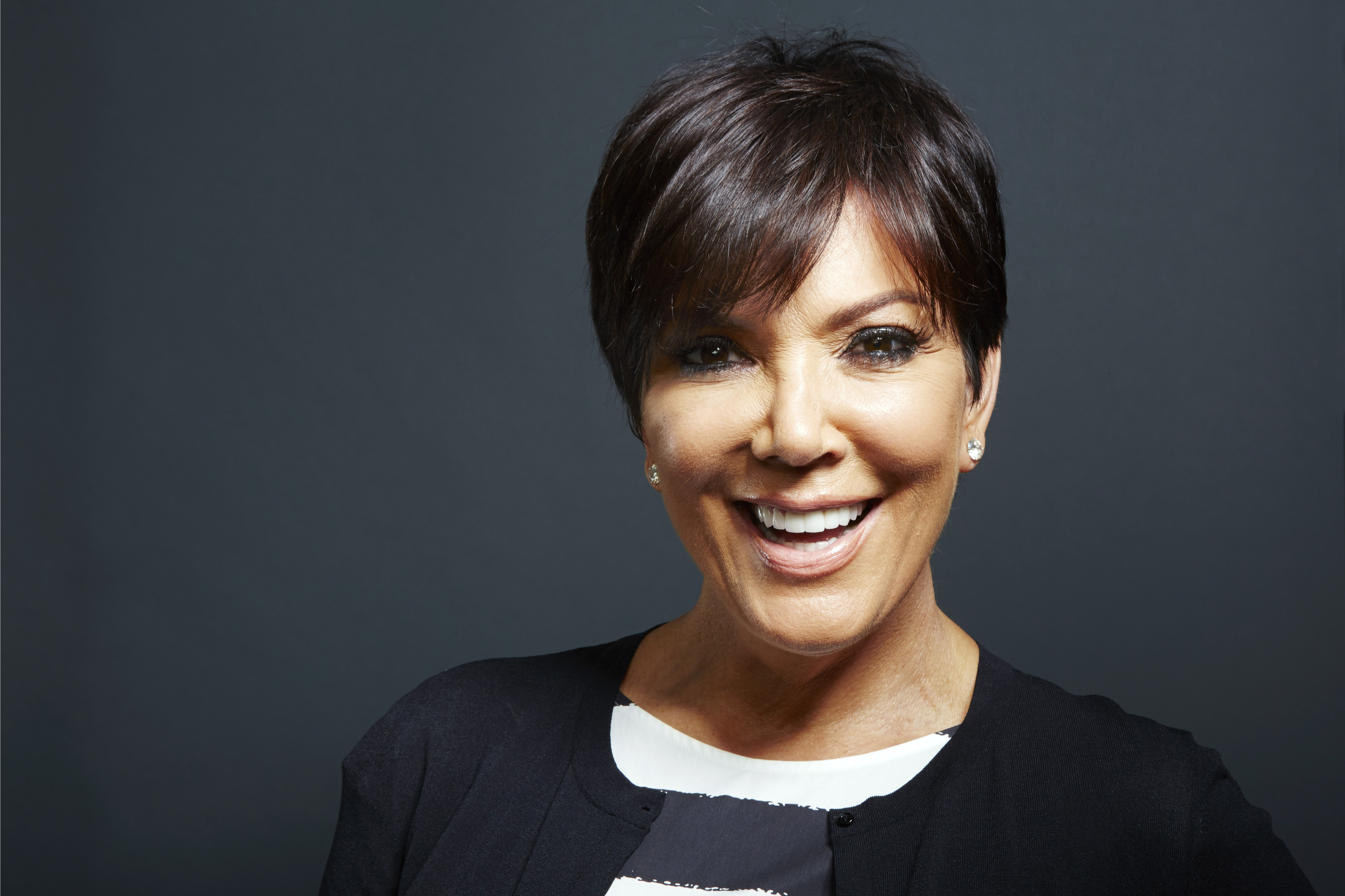 "Kris Jenner poses for a portrait in New York on July 8, 2013. Jenner's new talk show ""Kris,"" will air for six weeks starting July 15 on selected Fox-owned stations."