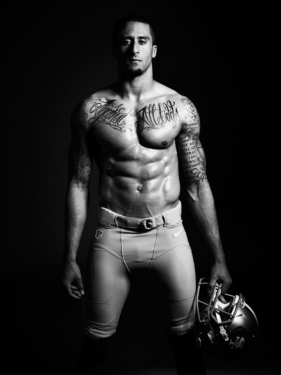 Colin Kaepernick tatouages