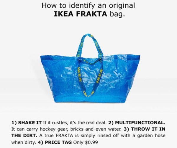 Comment est ce que IKEA s'est retrouvé au centre de la mode ?