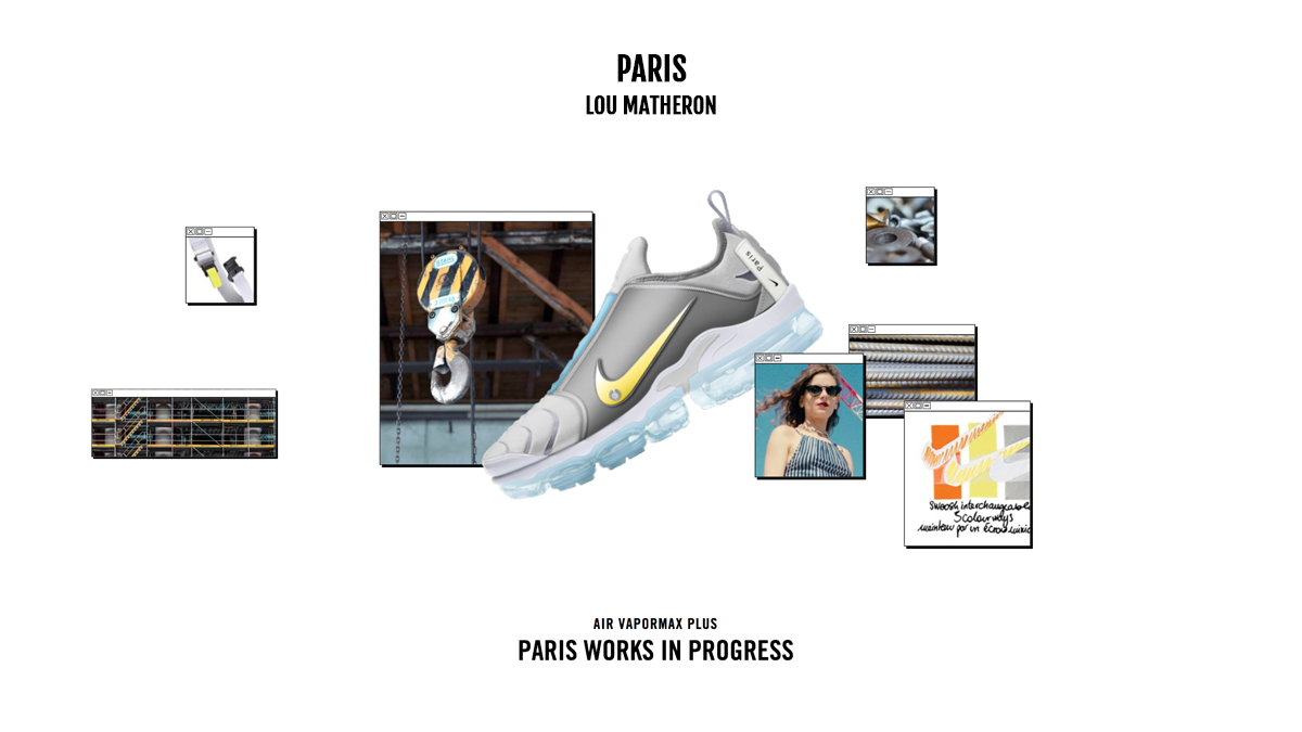 Lou matheron Nike Paris On Air