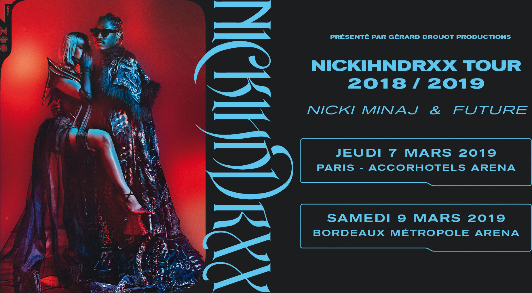 nicki minaj future concert paris bordeaux francenicki minaj future concert paris bordeaux france