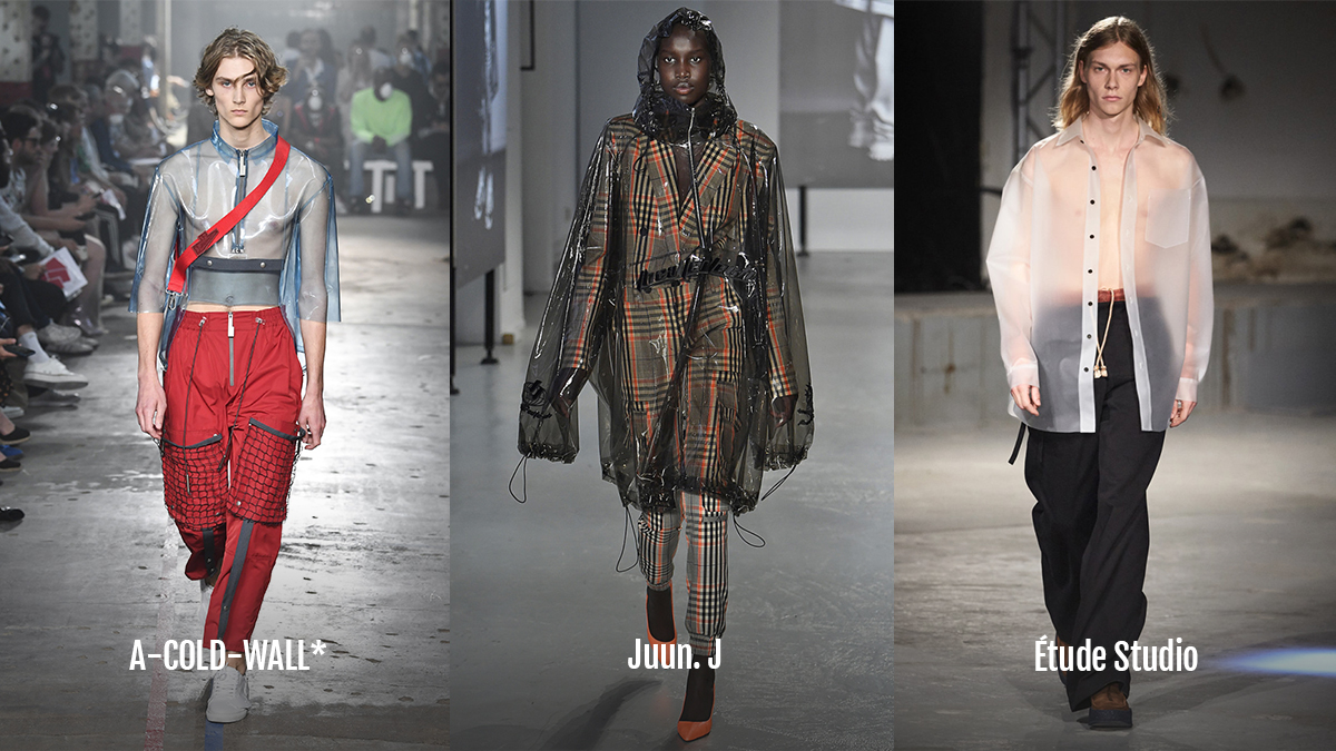 transparent fashion 2018 a cold wall juun j etude studio