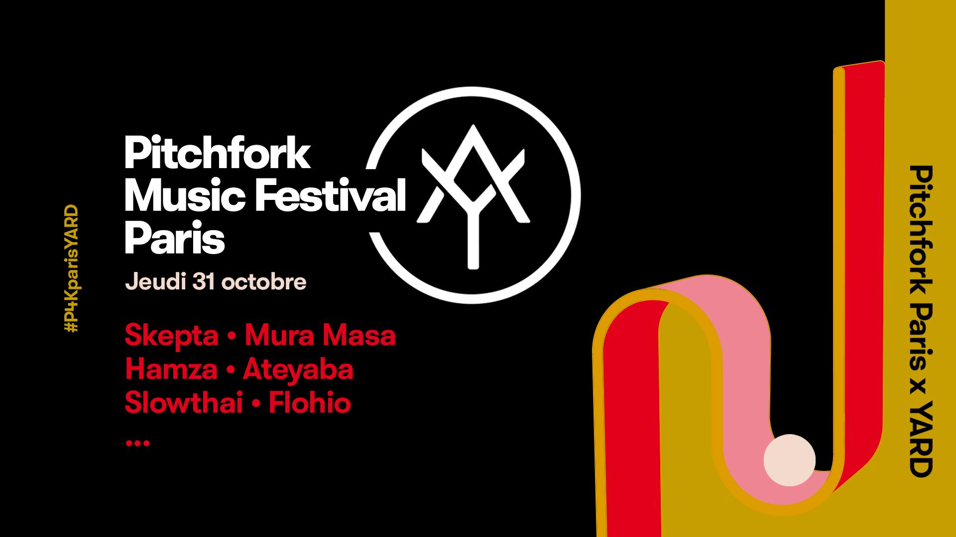 pitchfork paris yard music festival jeudi rap