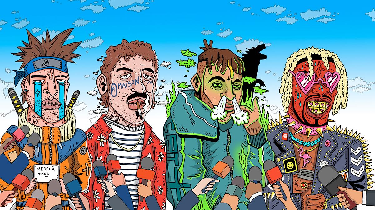 rap rappeurs medias france interviews yard